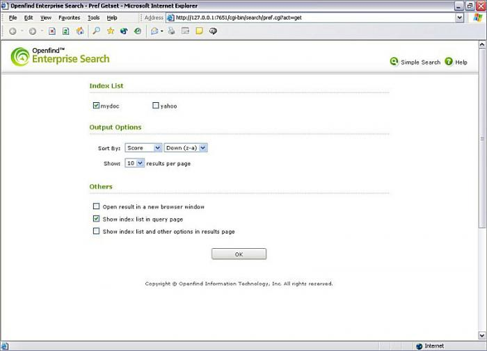 Openfind Enterprise Search