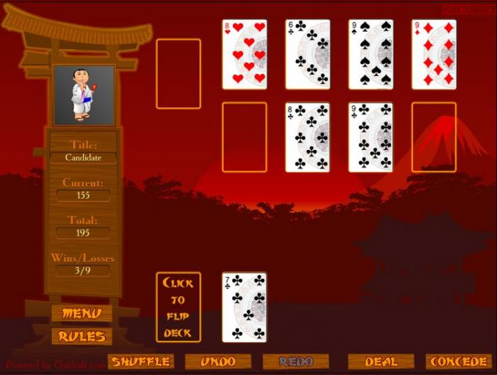 Ronin Solitaire